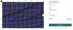 Click image for larger version.  Name:Colorado tartan spoonflower.jpg Views:5 Size:87.6 KB ID:36925